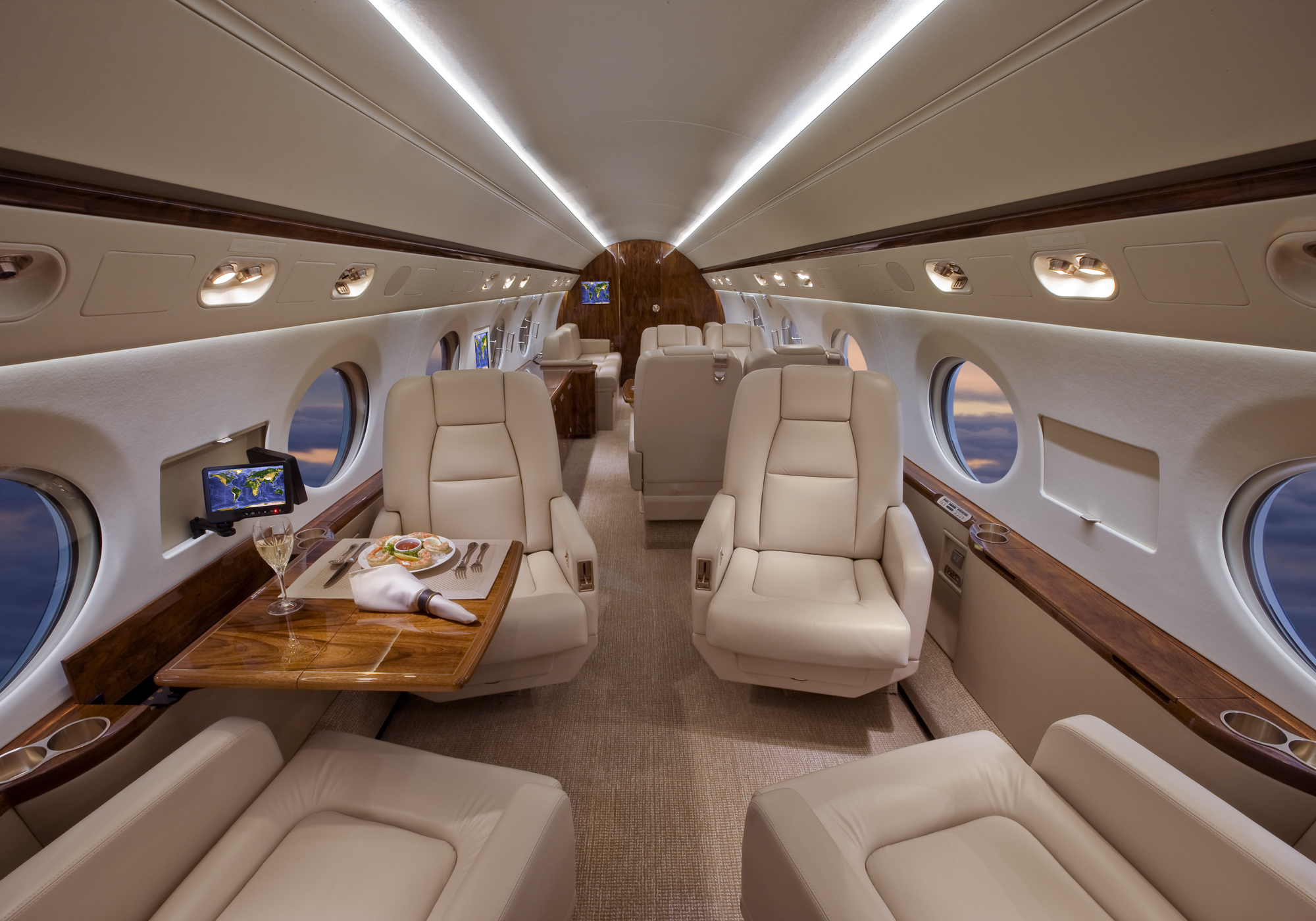 Gulfstream G550 Lease Exclusive Aircraft